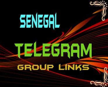 Senegal Telegram Group links list