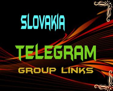 Slovakia Telegram Group links list