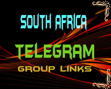 South Africa Telegram Group links list