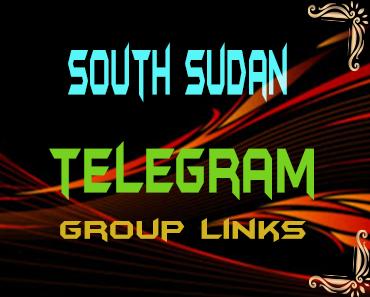 South Sudan Telegram Group links list