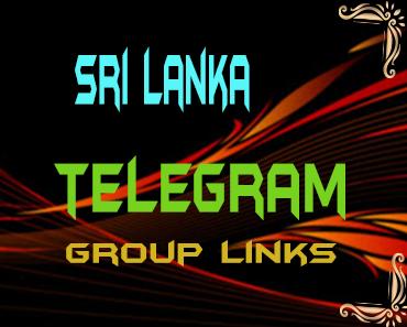 Sri Lanka Telegram Group links list