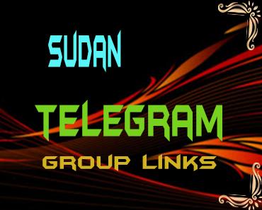 Sudan Telegram Group links list