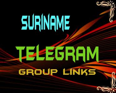 Suriname Telegram Group links list