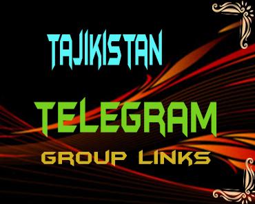 Tajikistan Telegram Group links list