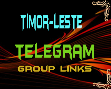 Timor-Leste Telegram Group links list