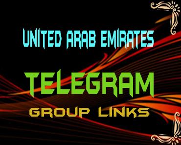 United Arab Emirates Telegram Group links list
