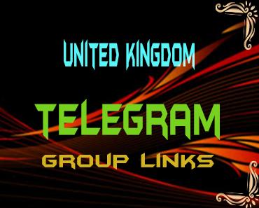 United Kingdom Telegram Group links list