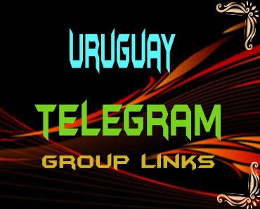 Uruguay Telegram Group links list
