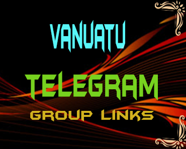 Vanuatu Telegram Group links list