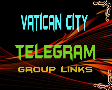 Vatican City Telegram Group links list