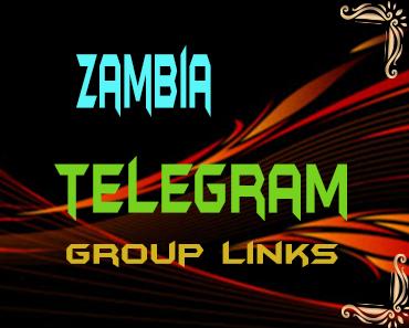 Zambia Telegram Group links list